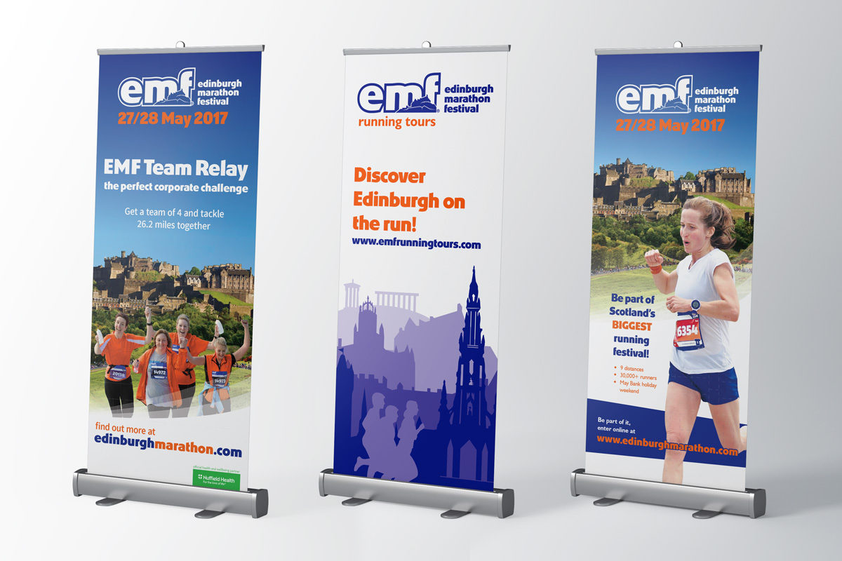 EMF rollup banners